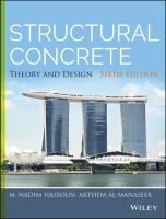 Hassoun - Structural Concrete_ Theory and Design 6th Edition c2015 txtbk.pdf