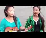Pengamen jalanan cantik menyanyikan lagu - Kangen Band - Ijab Kabul.3gp
