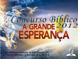 Concurso Bíblico 2012 - 14.ppt
