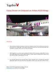 Enjoy Dinner on Onboard an Airbus A320 Wings.pdf