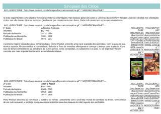 Sinopses dos Ciclos - Diversos.doc