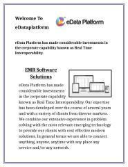 Healthcare Platform -edataplatform.docx