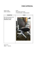 FORM APPROVAL - CHAIRS.xlsx