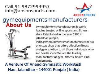 Book Your Product with Commercial Treadmill Manufacturer in India     .pptx
