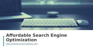 Affordable Search Engine Optimization.ppt