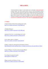 MILAGRES - Ótima coleção de Vídeos, Respostas, Textos, Livros e Áudios! - Atualização 2.pdf
