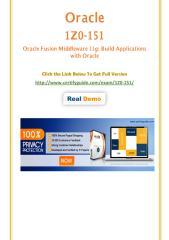 1Z0-151 Certification Test - Quality Training kits.pdf