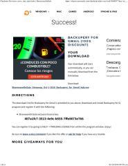 SharewareOnSale Backupery for Gmail.pdf