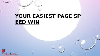 YOUR EASIEST PAGE SPEED WIN.pptx