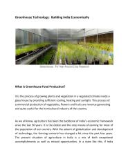 Greenhouse Technology  Building India Economically.pdf