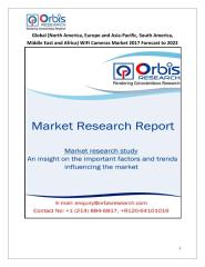 Global (North America, Europe and Asia-Pacific, South America, Middle East and Africa) WiFi Cameras Market 2017 Forecast to 2022.pdf
