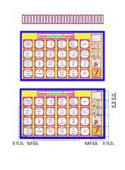 ข้อมูลสำหรับผลิตเกมตามล่าหาหลักธรรม2ประถม(ฉบับแก้ไข).doc