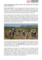Ground Engineering Ltd offer The Best Land Surveying and Soil Testing Services For Your Land.pdf