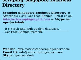 Scraping Singapore Business Directory.pptx