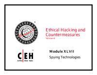 CEHv6 Module 47 Spying Technologies.pdf