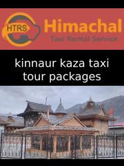 kinnaur kaza taxi tour packages - ppt.pptx
